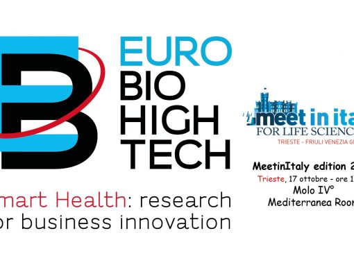 EURO BioHighTech, Meet in Italy for life sciences, 2019 edition